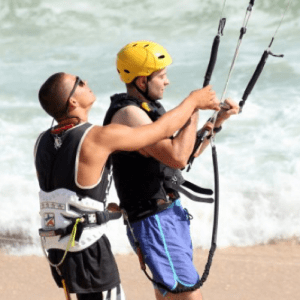 Kitesurfing taster lesson Kitesurfing Kiteboarding Lessons School Tuition West Sussex Wittering Bracklesham Close to London