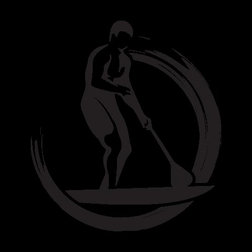 Get Paddleboarding Logo